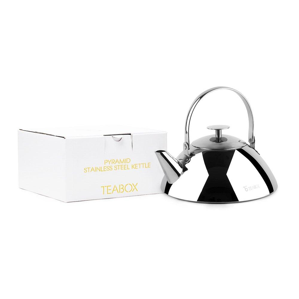 Teabox Bevel Stainless Steel Tea Kettle /& Infuser KKPS2