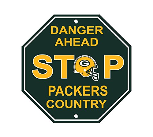 NFL Green Bay Packers Stop Sign (Green Bay Packers Decorations)