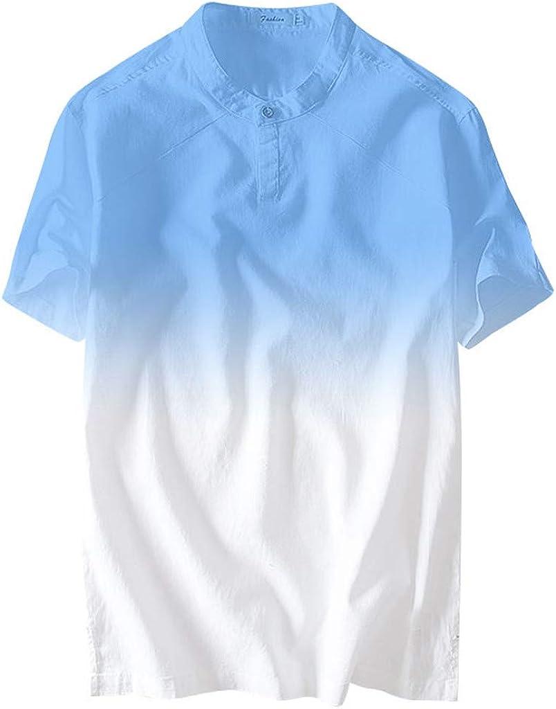 OrchidAmor 2019 - Camisa de Verano para Hombre, Cuello ...