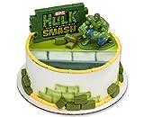 Hulk Agents of SMASH - Marvel 3D Action Figure Cake Decorating Kit, DecoPac.