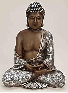 deko asien buddha figur statue skulptur feng shui 29cm - Buddha Deko Wohnzimmer