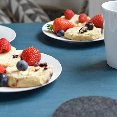 Argon Tableware Wide Rimmed Side/Dessert Plates - 154mm (6'') - Box of 6 by Argon Tableware (Image #6)