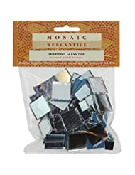 Mosaic Mercantile Mirrored Glass Tiles, Assorted Square, 100/...