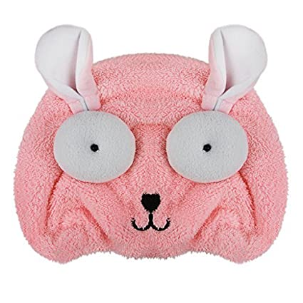 Amazon.com : Cute Cartoon Kids Dry Hair Cap Hair Turban Towel Wrap Bath Towel Super Water-absorbent Coral Velvet Hair Drying Hat Shower Cap Towels Head Wrap ...