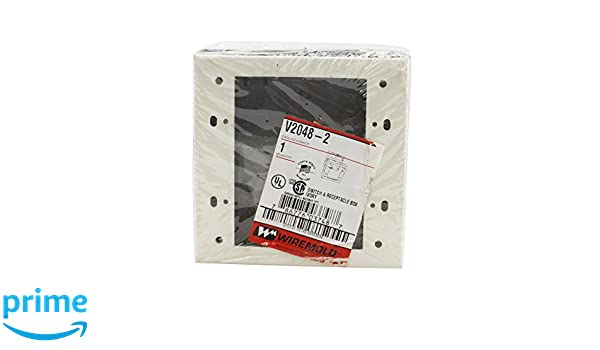 Amazon.com: Wiremold V2048-2 2-Gang Device Box Fitting Steel Ivory For Use With 2000 Series Single-Channel Raceway: Industrial & Scientific