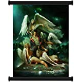 Devil May Cry Anime Fabric Wall Scroll Poster (32x40) Inches. [WP]-Devil May Cry- 64(L)