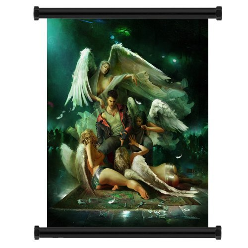 Devil May Cry Anime Fabric Wall Scroll Poster  Inches. -Devi