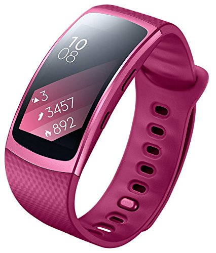 Click to buy SAMSUNG Gear Fit2 SM-R360 Sports Band Smartwatch / iPhone Compatible [Asia Version] (Small, Pink) - From only $119.99