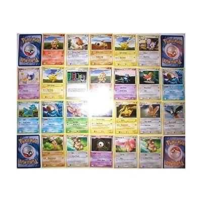 Pokemon Center 110 Bulk Collectible Pokemon Cards Party Favors: Toys & Games