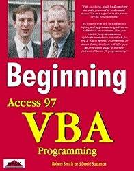 Beginning Access 97 VBA Programming