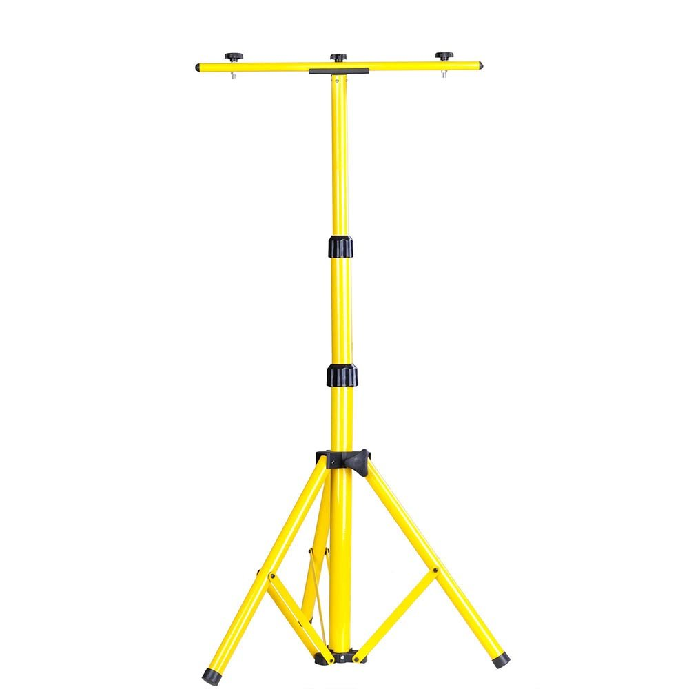 YesHom Adjustable Tripod Stand for LED Flood Light Telescoping Steel Floodlight Stand Camp Work Emergency Lamp by Yeshom (Image #2)