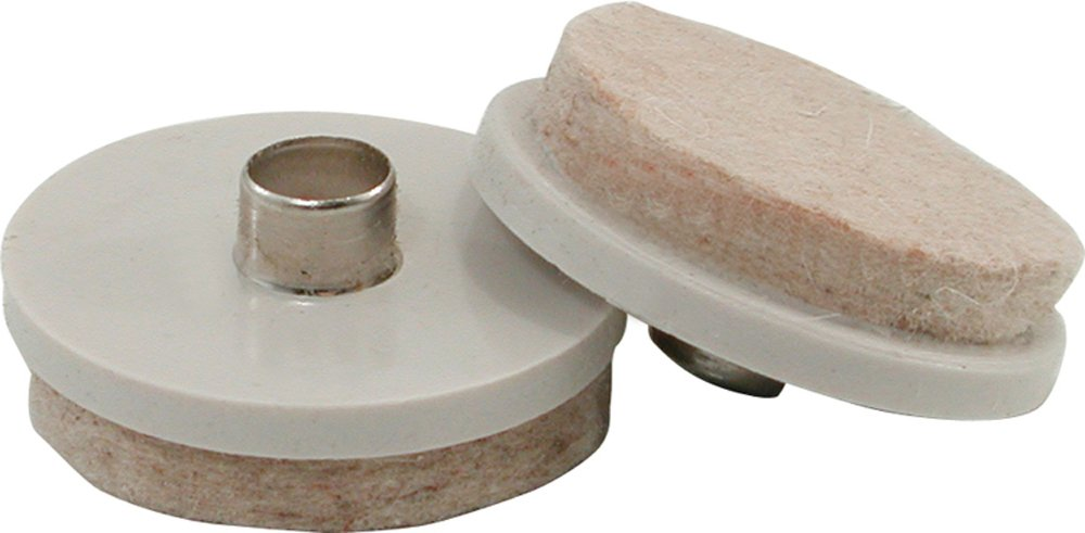 Shepherd Hardware 9936 Nail On Furniture Glides With Felt Pads, 1 Inch And  1 1/2 Inch, 20 Count   Furniture Pads   Amazon.com