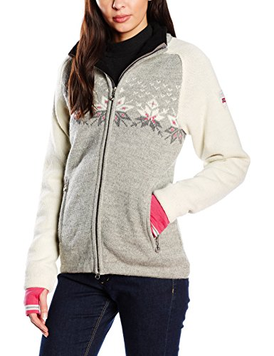 Dale of Norway snetind femenino suéter para mujer Jersey Gris - grey - Light Charcoal/Smoke/Off White/Allium