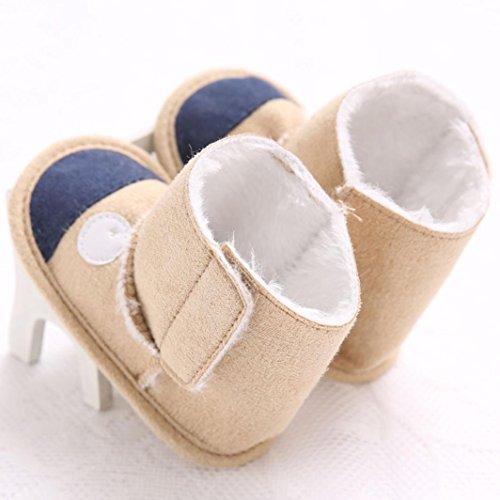 Babyschuhe Longra Halten Sie warme Säuglings kleinkind weiche alleinige Schnee Aufladungs Baby Mädchen Krippe Schuhe Stiefel(0-11 Monate)