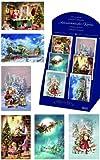 Alexander Taron Korsch Holiday Season Box of 60 Decorative Assorted Advent Cards