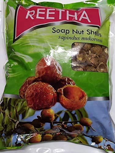 Sunvedita Reetha Soap Nut Shells, 900 g (Brown)