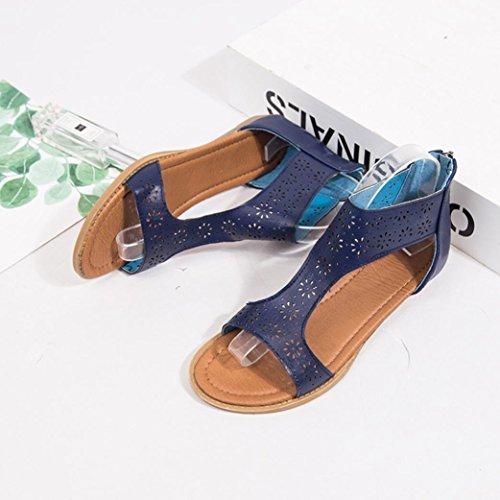 Donna SANFASHION SANFASHION Schiava Schuhe Bekleidung blu Alla Damen 144155 r60Hr