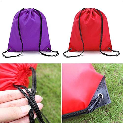 Auzl Azul Westeng 1x Bolsas de Cuerdas de Deporte Mochila con Cord/ón Drawstring Bags para Adulto Ni/ños y Adolescentes