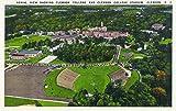 Clemson, South Carolina - Clemson College and Stadium Aerial View (12x18 Art Print, Wall Decor Travel Poster)