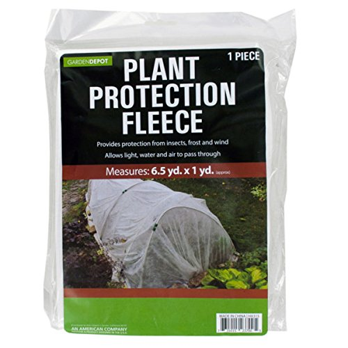3'x19.5' plant protection fleece against frost, insects, (3' Heat Shield)