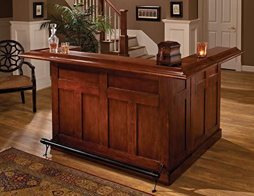 Hillsdale Furniture Hillsdale Classic Side Bar, Large, Cherry Finish