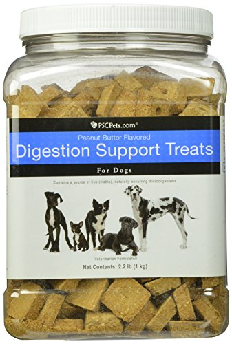 Digestion Support Treats for Dogs, 2.2-Pound