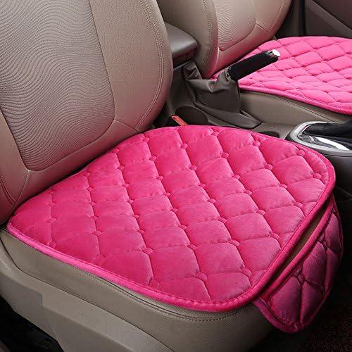 Sedeta Mingruie Silk Velvet Car seat Covers Vehicle Front Mesh Protective Cover Cushion Mat Pad Decor in Automotive Interior fo