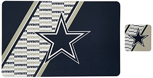 NFL Dallas Cowboys Placemat Coaster Set
