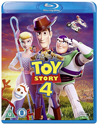 Toy Story 4 [Blu-ray] [2019] [Region Free] (Toy Story 4 Movie)