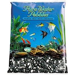 Pure Water Pebbles Aquarium Gravel, 5-Pound, Salt and Pepper