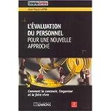 l'evaluation du personnel: pour une nouvelle approche