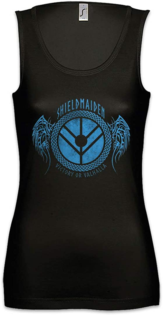 Urban Backwoods Shieldmaiden I Damen Frauen Tank Top Shirt