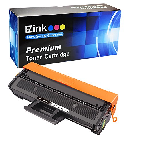 (E-Z Ink (TM) Compatible Toner Cartridge Replacement for Samsung 101 MLT-D101S to use with ML-2161/2166w/2160/2165w SCX-3401/3401FH/3406HW SCX-3405FW SCX-3400/3405F//3405FW/3407 SF-761P/760P (1 Black))