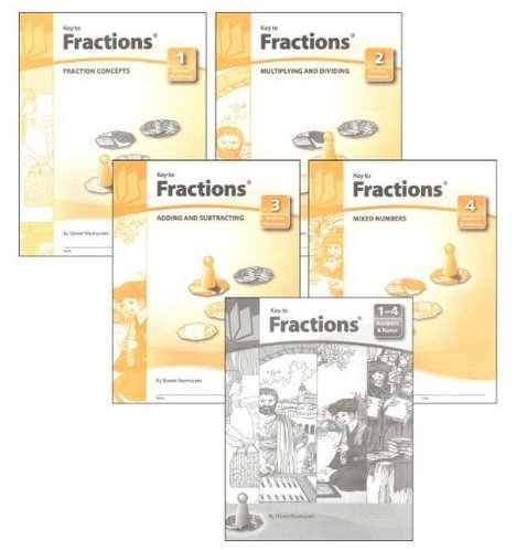 Key to Fractions Books 1-4, plus Answers and (Book 3 Answer Key)