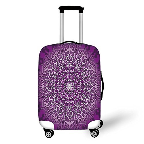 Travel Luggage Cover Suitcase Protector,El Capitan Half Dome in California Natio