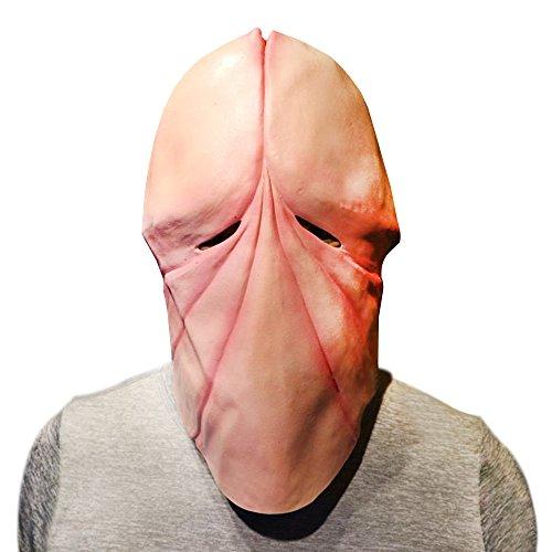 Funny Headgear (QIYIGE Halloween Funny Headgear Tricky Toys Penile Capillaries Mask)