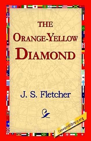 book cover of The Orange Yellow Diamond