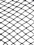 25' X 50' Net Netting for Bird Poultry Aviary Game Pens