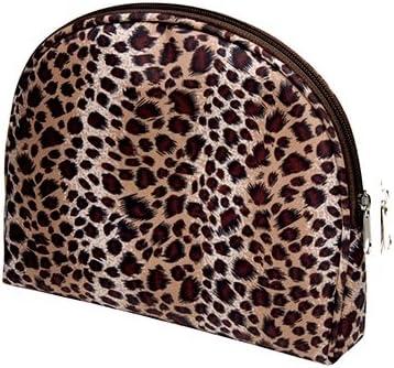 ALINCAS Travel Cosmetic Bag- Animal Print