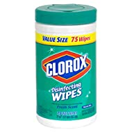 Clorox Disinfecting Wipes, Fresh Scent, 75 Count Canister