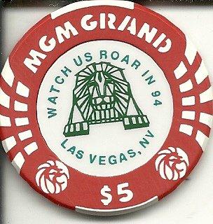 $5 mgm grand opening 1993 obsolete las vegas casino (Grand Opening Las Vegas Casino)
