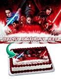 Star Wars The Last Jedi Edible Cake Image Personalized Icing Sugar Paper A4 Sheet Edible Frosting Photo Cake 1/4 ~ Best Quality Edible Image for cake