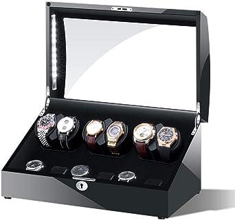 WCX Watch Winder Caja Giratora Caja para Relojes Automáticos con ...