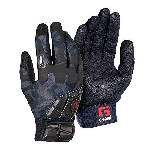 G-Form Baseball/Softball Batting Gloves - Black - Adult Small(1 - Away Batting Glove Adult