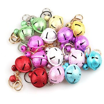 (Decoration - Christmas Party Home Decoration Multicolor Bells Pendant Toys Kids Children Gift - Xmas Chime Yule Doorbell Yuletide Buzzer Christmastime Gong Day Campana - 1PCs)