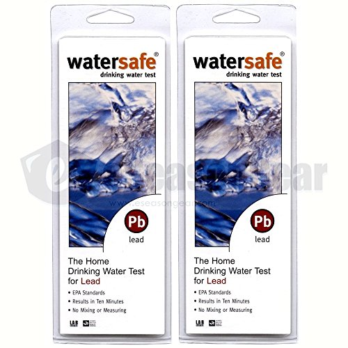 ((Package Of 2) WaterSafe LEAD Water Test Kit)