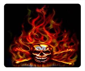 Hell Knight Design Rectangular Mouse Pad He Is Evil Person by runtopwell
