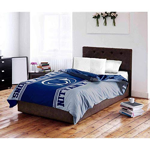 The Northwest Company NCAA Penn State Nittany Lions Twin/Full Bedding Comforter (Penn State Bedding)
