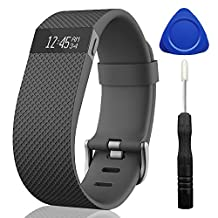For Fitbit Charge HR, TreasureMax Adjustable Replacement Accessories band for HR Charge Fitbit/Fitbit Charge HR 1/Fitbit Charge HR