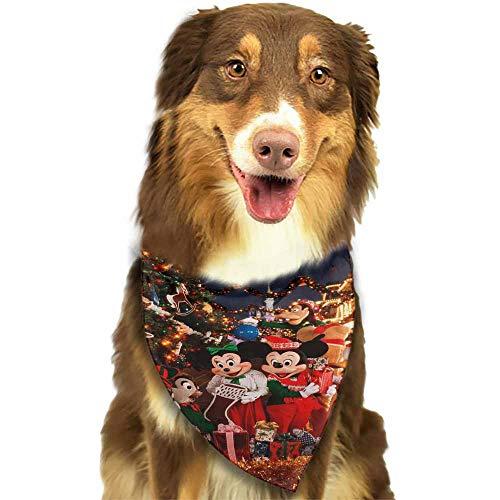 Dog Bandana Med to Large Dogs,at Disney Christmas